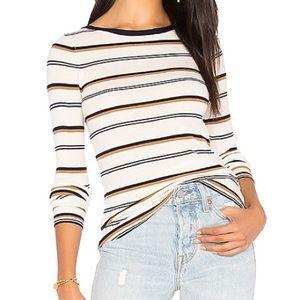 Theory Merino Wool Striped Sweater